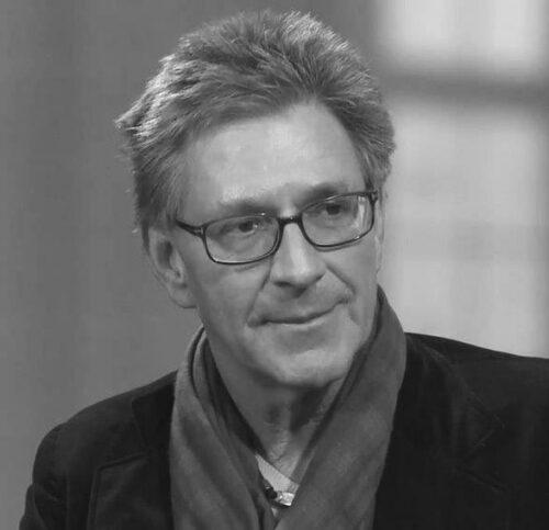Portrait in Schwarz-Weiß von Hans Christian Meiser