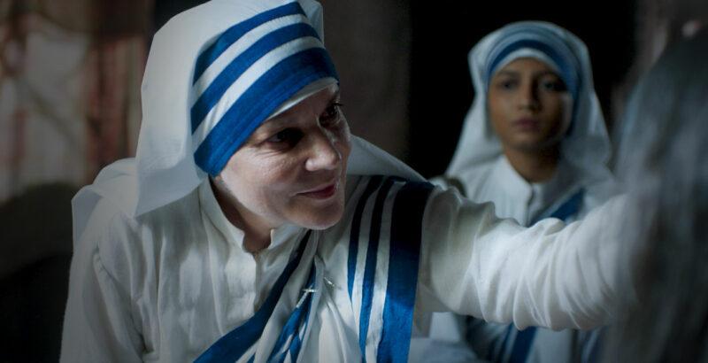 Schauspielerin Jacqueline Fritschi-Cornaz in ihrer Rolle als Mutter Teresa.