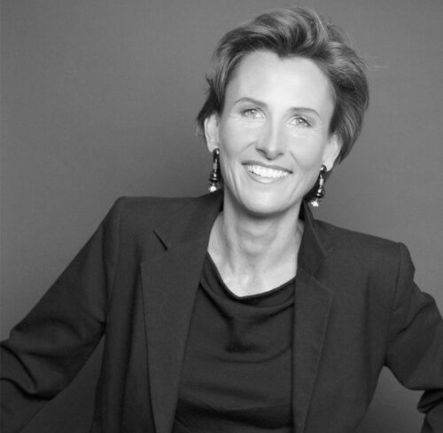 Schwarz-Weiß-Bild von Dr. Amelie Sanktjohanser.