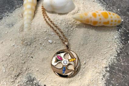 Die Kette Sand Dollar Candy von Tamara Comolli.