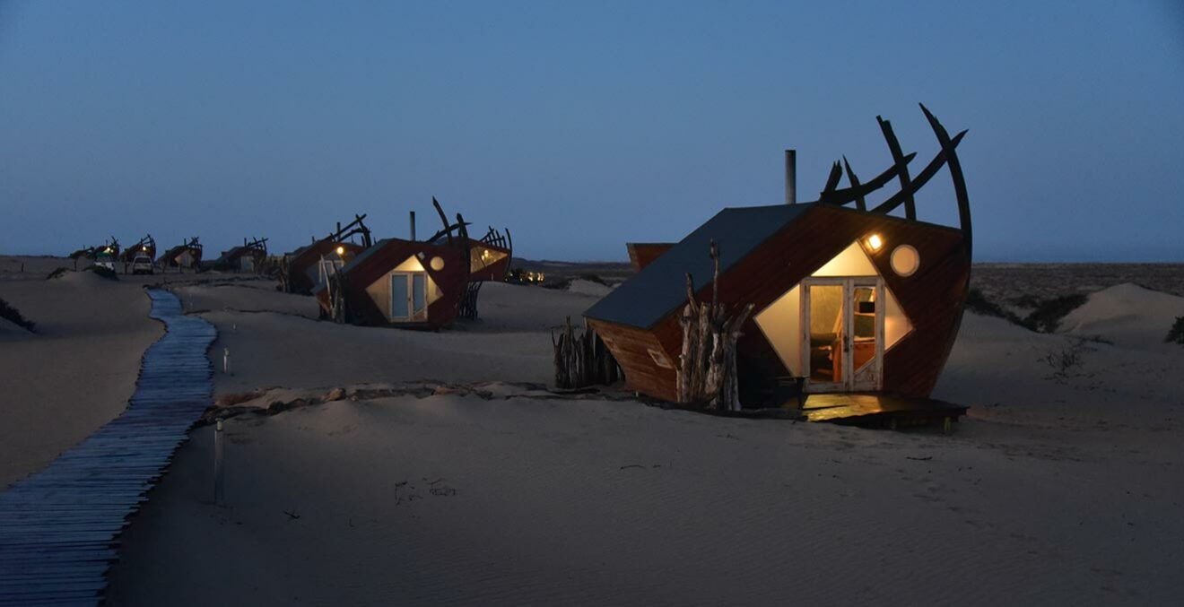 Shipwreck-Lodge in Namibia