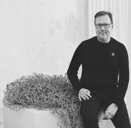 Schwarz-Weiß-Bild von Henrik Marstrand.