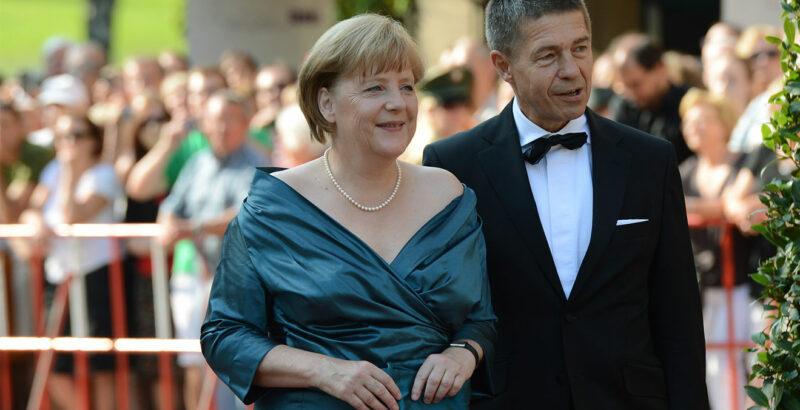 Angela Merkel bei den Bayreuther Festspielen.