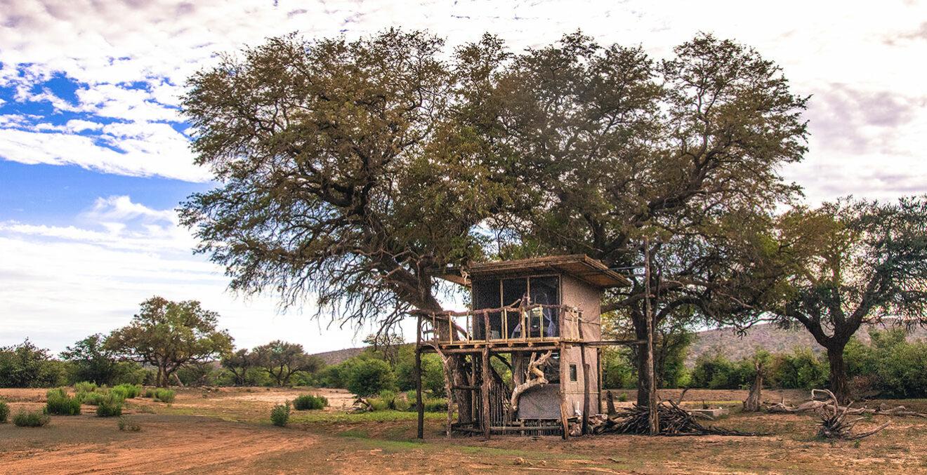 Baumhaus in Namibia