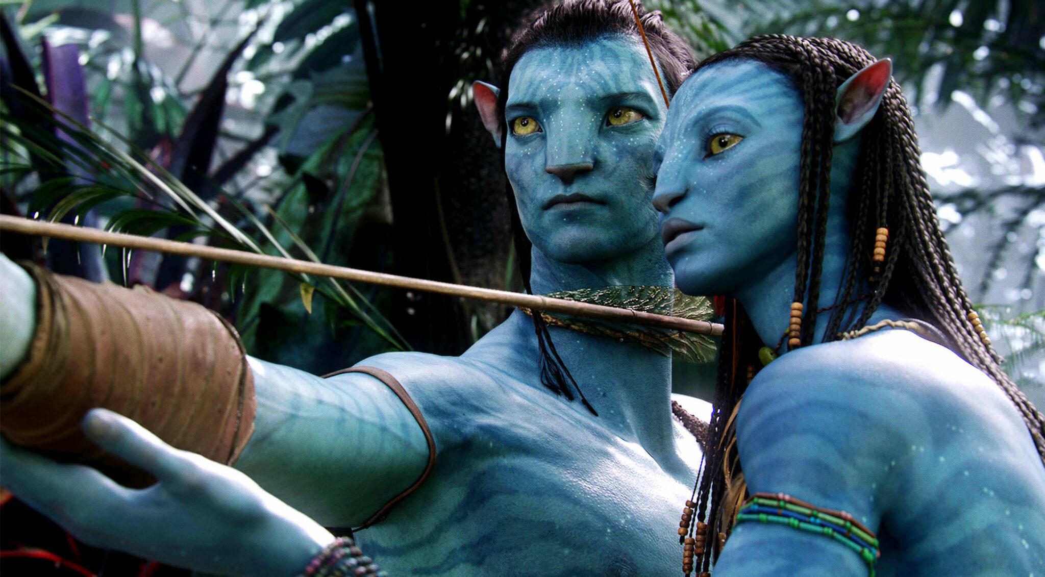 """Szene aus dem Film """"Avatar""""."""